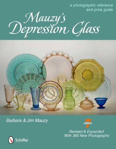 Mauzy's Depression Glass: A Photographic Reference and Price Guide