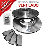 2x Brake Disc Vented Ã239mm + Brake Pads Front SEAT AROSA 6H 1.0,1.4,1.7 SDI 1997-2004; VW LUPO 6X1, 6E1 1.0,1.4 16V,1.7 SDI 1998-2005; VW POLO 6N1 1.0,1.3,1.4,1.6,1.7 SDI,1.9 D/SDI 1994-99 + PANEL VAN 6NF; VW POLO 6N2 1.0,1.4,1.7 SDI,1.9 D/SDI 1999-2001
