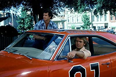 Dukes Of Hazzard General Lee Cast 24X36 Poster