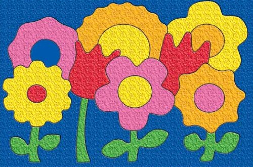 Cheap Lauri Flowers – Early Learning Crepe Rubber Puzzle (B000NZNVSK)
