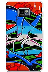 IndiaRangDe Case For Samsung Galaxy S2 II I9100 Printed Back Cover