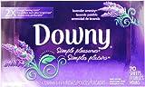 Downy(ダウニー) 乾燥機用柔軟仕上げシート ダウニーシンプルプレジャーシート (ラベンダーセレニティ) 70枚入