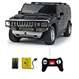 Shopcros Racer R-C Rechargeable 1:24 Hummer H2 Suv Black