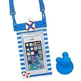 ディズニー iPhone 防水ケース IPX8 スマホ iPhone6s iPhone6 iPhone5s / ドナルド