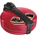 Hamilton Beach Enclosed Pizza Oven, Red