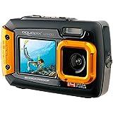 """Easypix W1400 Active - Cámara de fotos subacuática de 20 Mp (pantalla de 2.7"""" y 1.8"""", zoom digital 4x, sumergible hasta 3 metros)"""