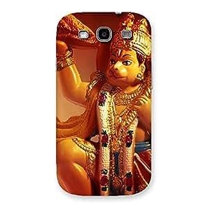 Impressive Lord Hanuman Multicolor Back Case Cover for Galaxy S3 Neo