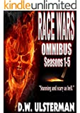 SHTF Survival Fiction: RACE WARS OMNIBUS: Seasons 1-5: An American survivalist fiction thriller...