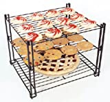 Nifty Home Products Triple-Tier Cooling Rack