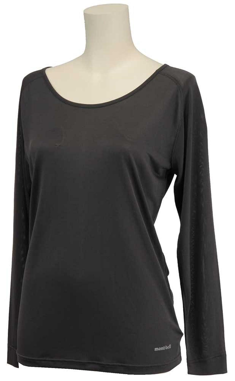 (モンベル)mont-bell スペリオルシルクL.W.ラウンドネックシャツ Women's