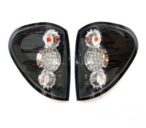 Tail Light Rear Lamp Black Housing Led Mitsubishi L200 Triton Mn Ml Ute 2005 - 2014