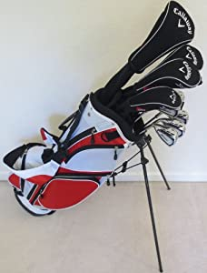 Callaway Mens Left Hand Golf Club Set Regular Flex Complete Driver, Fairway Woods,... by Callaway
