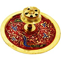 Mehrunnisa Brass Incense Stick Agarbatti Holder Mughal Design (MEH1230)