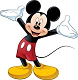 Disney Mickey & Friends Mickey Mouse Wall Decal Cutout 36.5x36.75