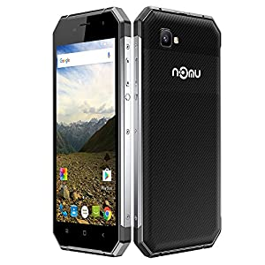 NOMU S30 Smartphone Outdoor Ragged Tough Phone IP68 Waterproof Dustproof Drop-resistant Shock-resistant 4G FDD-LTE 3G Android 6.0 5.5 Inches FHD 1920*1080Pixels Screen OTG Smart Gesture (Silver)