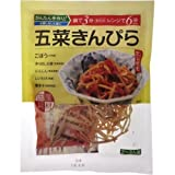 惣菜具財セット(だし付き) 五菜きんぴら 68.1g