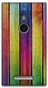 The Racoon Lean Colors of Wood hard plastic printed back case / cover for Nokia Lumia 925