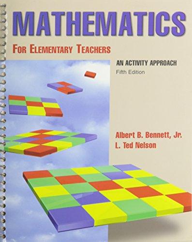 Math for Elementary Teachers Activity 5E