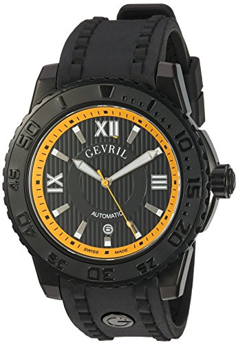 Gevril-Mens-3112-Seacloud-Analog-Display-Automatic-Self-Wind-Black-Watch