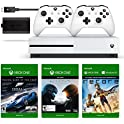 Xbox One S 500GB + 2nd Controller + Play & Charge Kit + 3 Games