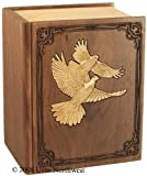 Bible Companion Urn with Doves
