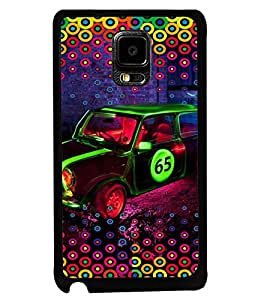 PRINTVISA Abstract Car Case Cover for Samsung Galaxy Note Edge