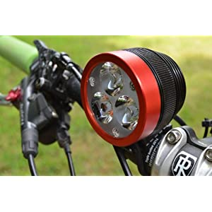 Lumintrail 3000 Lumen Bicycle Light W/ Helmet Mount Kit & 5-year Usa Limited Warranty