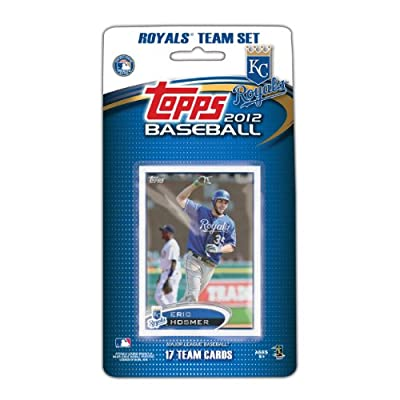 MLB Kansas City Royals 2012 Topps Team Set