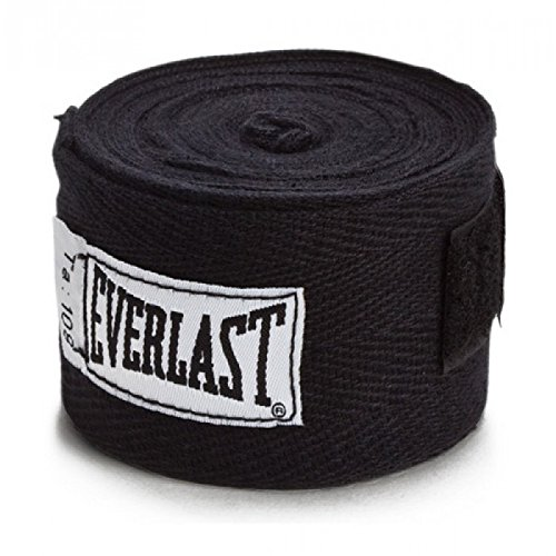 """Everlast Boxbandagen 2,75m / 3m oder 4,5m (schwarz, 3m (120""""))"""