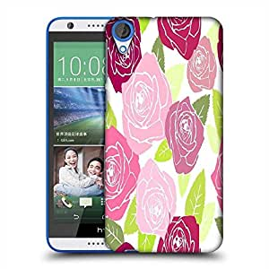 Snoogg Multicolor Roses Designer Protective Phone Back Case Cover For HTC Desire 820