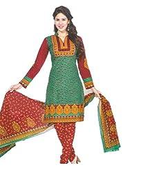 Sanjeeban Fashion Studio Women's Cotton Dress Material (FE_67_Multi-Coloured_Free Size)