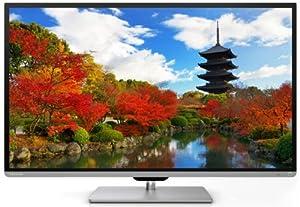 Toshiba 40L7363DG 102 cm (40 Zoll) 3D LED-Backlight-Fernseher + (Full-HD, 200Hz AMR, DVB-T/-C/-S, CI+, WLAN, Smart TV, HbbTV) schwarz