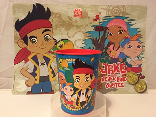 Jake and the Never Land Placemat AND Jake and the Never Land Cup