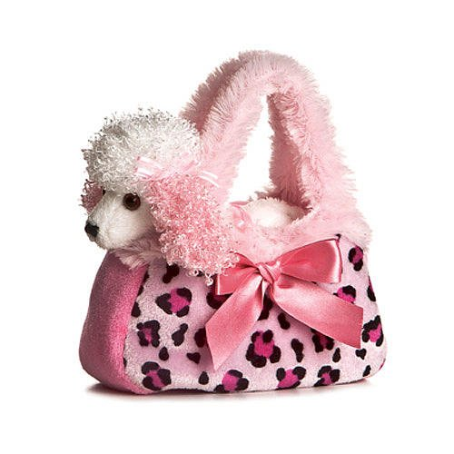 8-inch Pet Carrier - Pretty Poodle