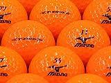 【ABランク】【ロゴなし】ミズノ T-ZOID オレンジ 2013年モデル 20個セット 【ロストボール】