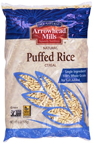 Arrowhead Mills, Puffed Rice, 6 oz (Gmo Free Rice Cereal compare prices)