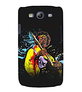 printtech Jimi Hendrix Music Guitar Back Case Cover for Samsung Galaxy S3 Neo / Samsung Galaxy S3 Neo i9300i