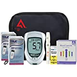 Diabetes Testing Kit (TrueResult Meter + 100 TrueTest Strips + 100 Active1st 30g Lancets + Lancing Device)
