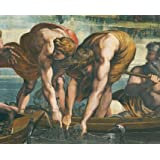 The Miraculous Draught of the Fishes, detail, by Raphael (Print On Demand)