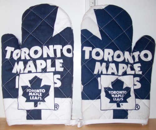 Toronto Maple Leafs Set of 2 Oven/Barbeque Mitts