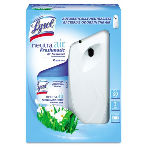 Lysol Neutra Air Freshmatic Automatic Spray Air Freshener Starter Kit, Fresh, 1 Count (Air Freshener Auto Spray compare prices)