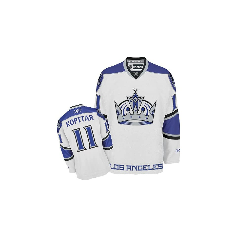NEW NHL Authentic Jerseys Los Angeles Kings  11 Anze Kopitar (A) WHITE  Jersey 46 60 Drop Shipping (5DAYS leading Time All Sewn On) 6ad863d8f