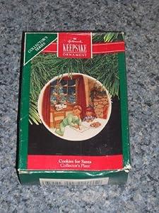 """Hallmark Keepsake """"Cookies for Santa"""" Christmas Ornament 1990"""
