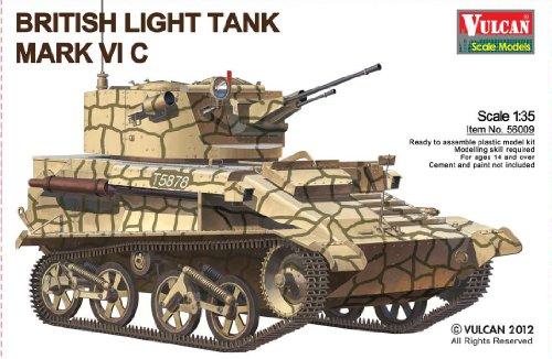 Vulcan Models 056009 British Light Tank VI C 1:35 Plastic Kit