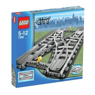 LEGO City 7996: Train Rail Crossing