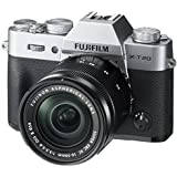Fujifilm X-T20 Mirrorless Digital Camera w/XC16-50mmF3. 5-5. 6 OISII Lens - Silver at amazon