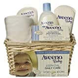 Aveeno Baby Gift Set, Daily Care Essentials Basket