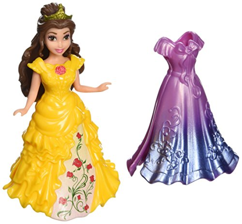 Disney Princess MagiClip Belle Doll (Mattel Clip Dolls compare prices)