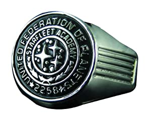 Quantum Mechanix Star Trek (2009 Movie) Starfleet Academy Class Ring Replica