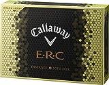 Callaway(キャロウェイ) E・R・C ゴルフボール(1ダース12個入り) 2016年モデル ボールカラークリスタルイエロー  64226531200117 クリスタルイエロー
